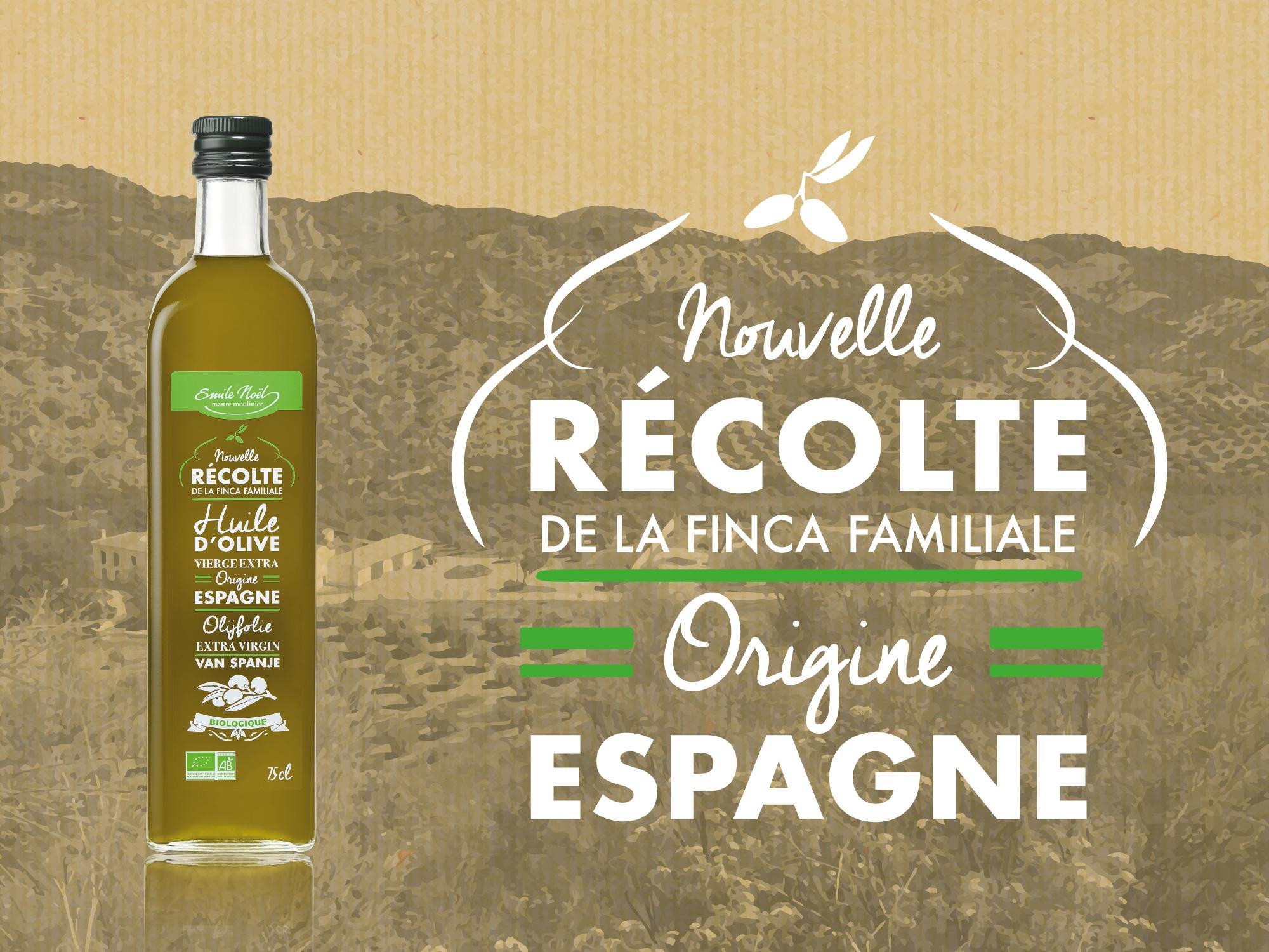 Actualité Nouvelle récolte Emile Noël 2017 : premier cru de l'oliveraie familiale