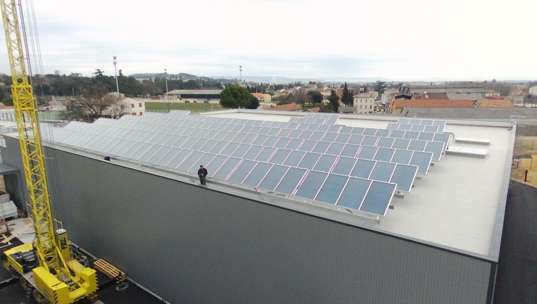 Système panneaux solaires SFT Groupe Emile