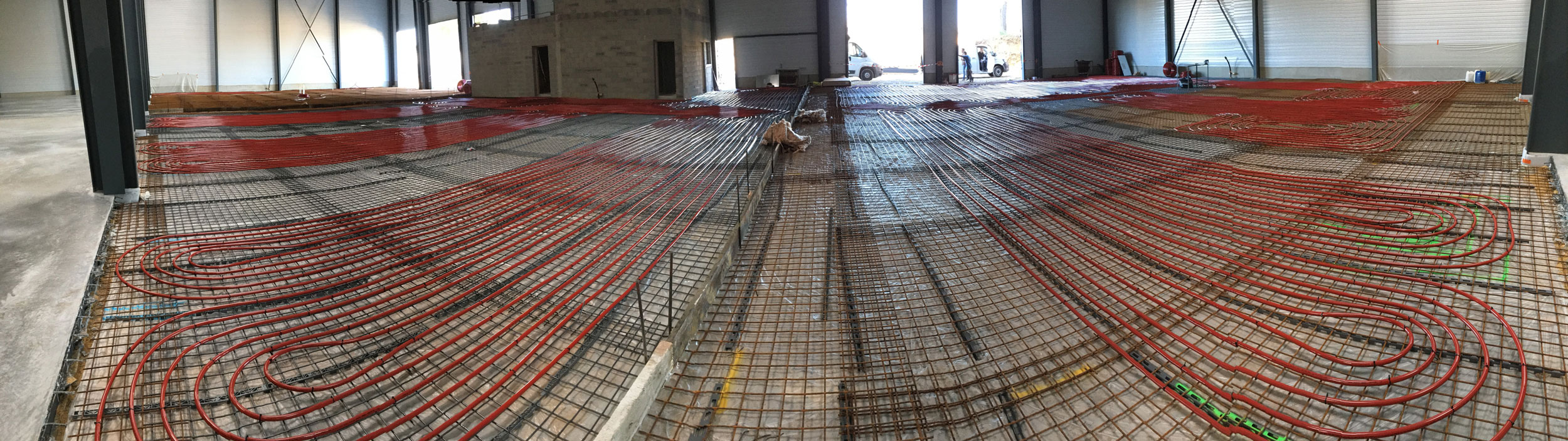 Système plancher chauffant SFT Groupe Emile