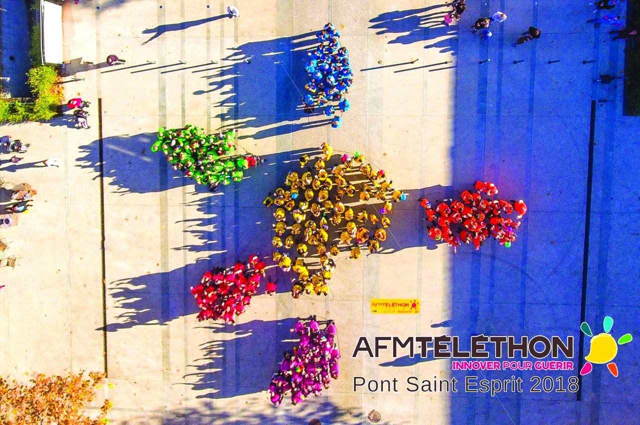 Action Téléthon Pont-Saint-Esprit Groupe Emile