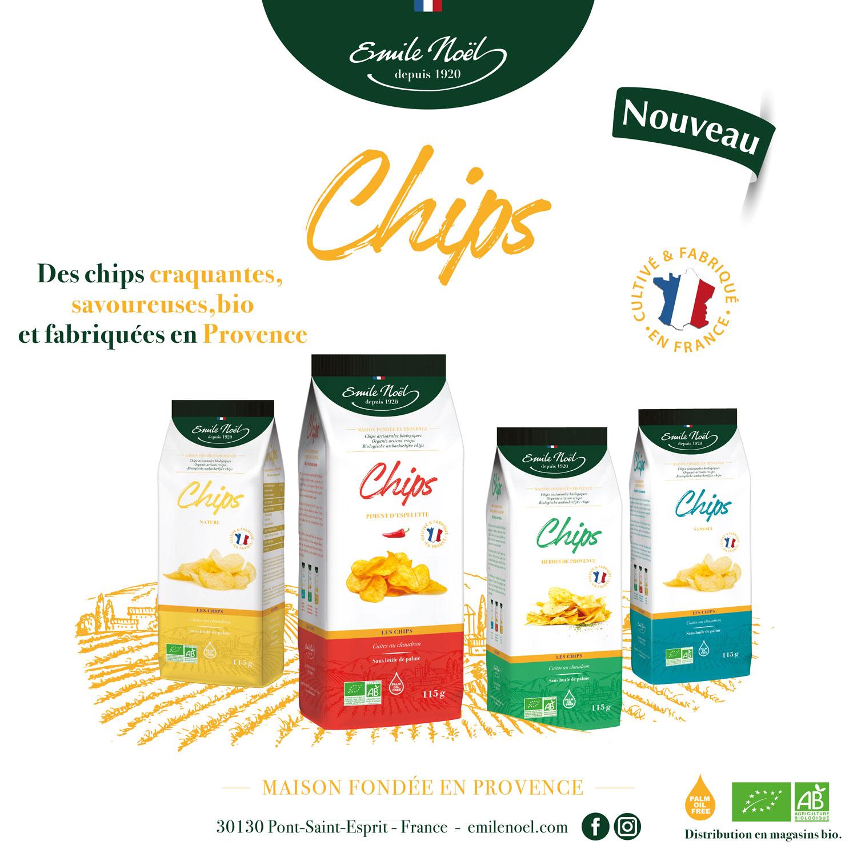 Actualité chips Emile Noël