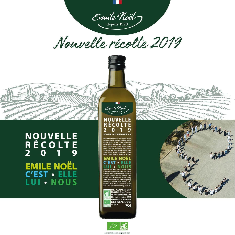 Actualité nouvelle récolte 2019 groupe Emile