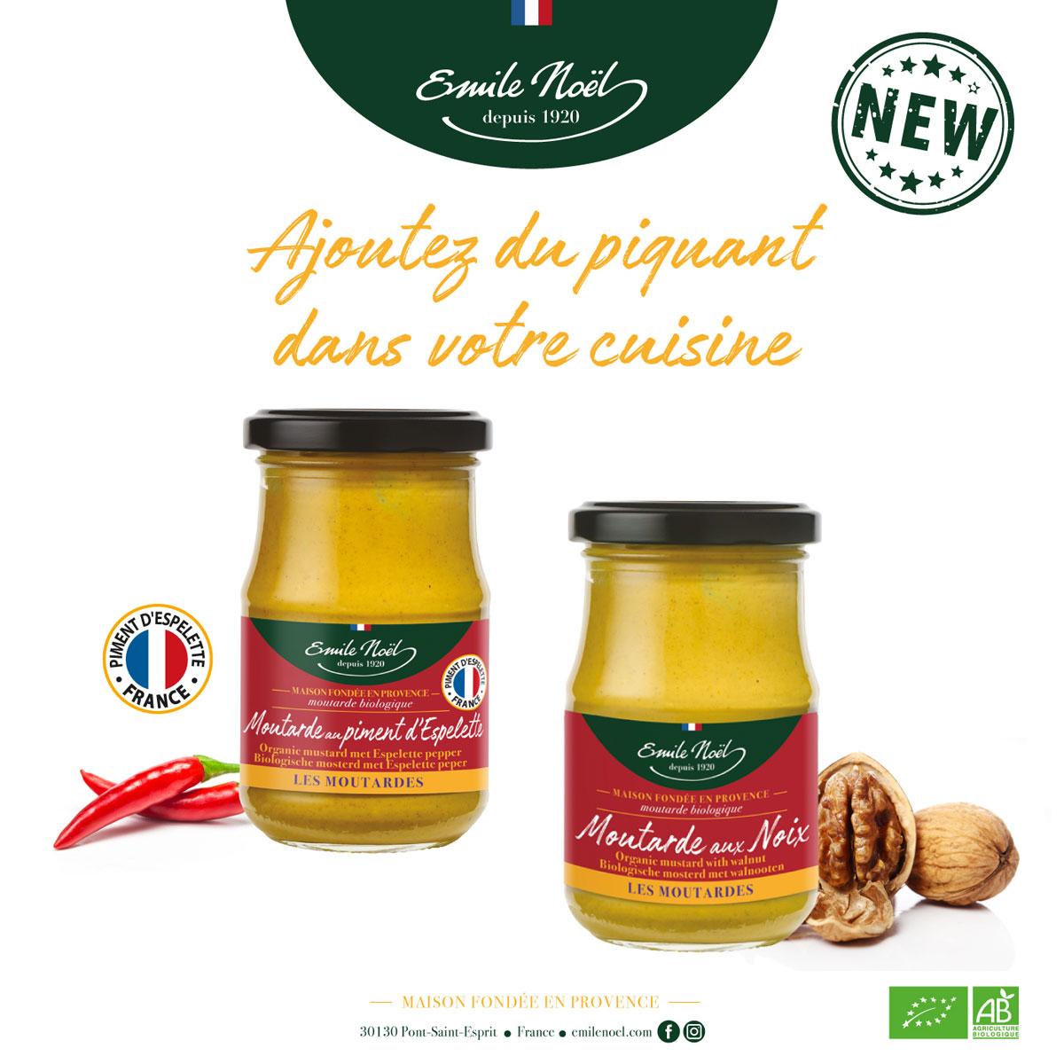 actualité nouvelles moutardes Emile Noël