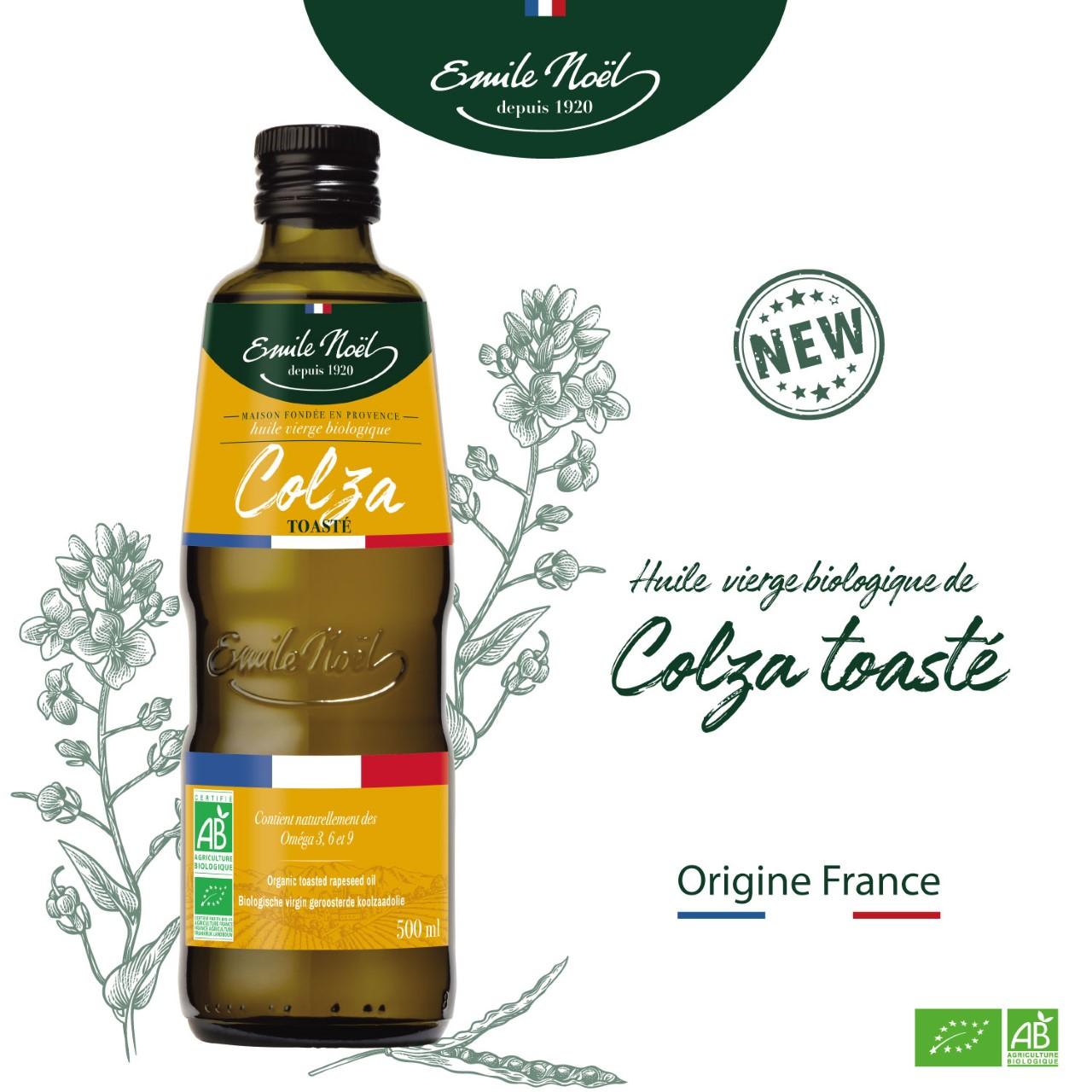 actualité nouvelle huile de colza toasté Emile Noël